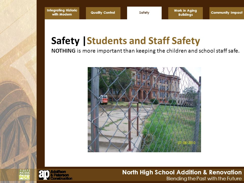 Safety |Students and Staff Safety