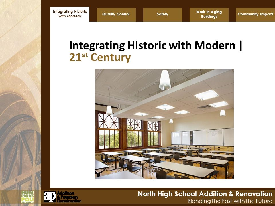 Integrating Historic with Modern