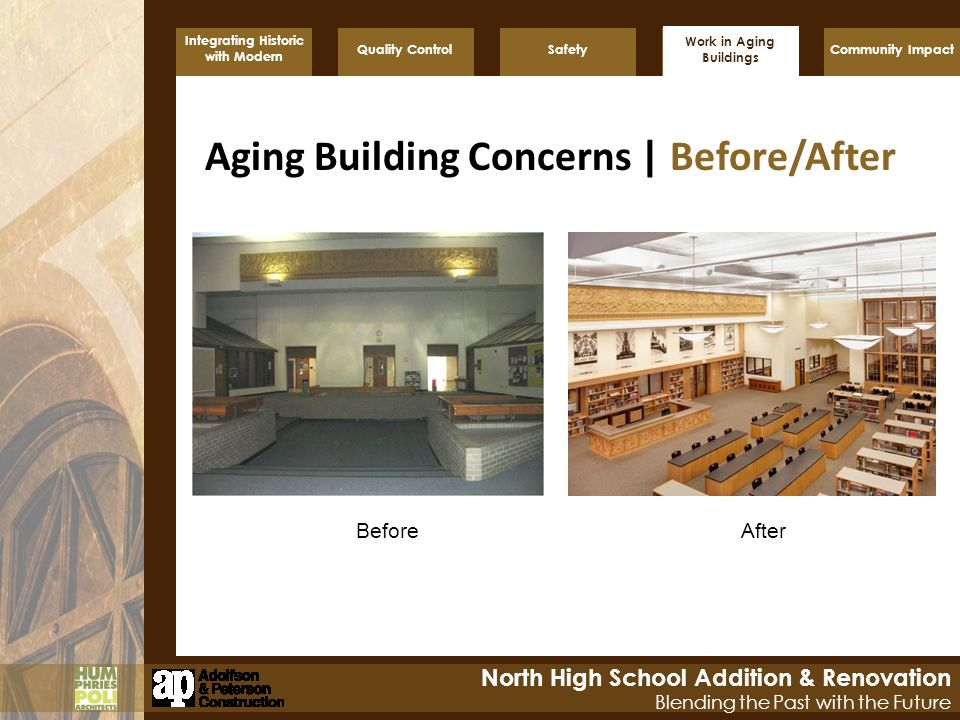 Work in Aging Buildings