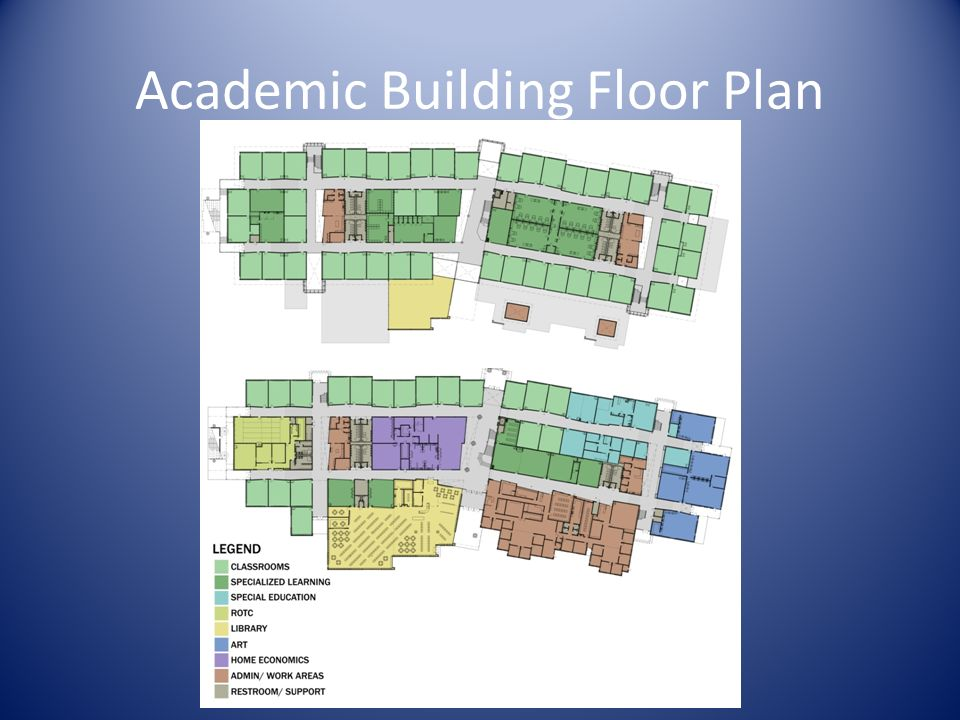 Academic Building Floor Plan