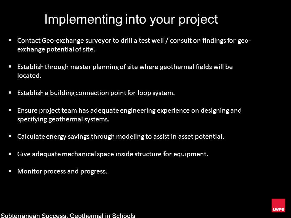 Implementing into your project