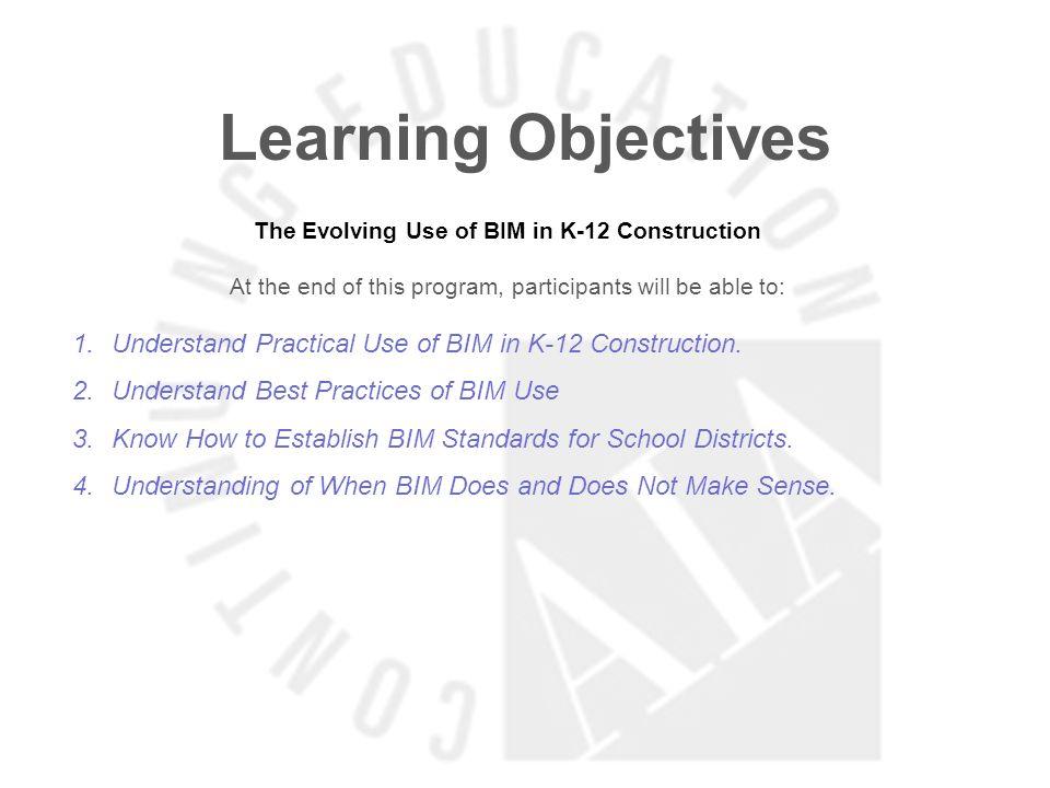 The Evolving Use of BIM in K-12 Construction