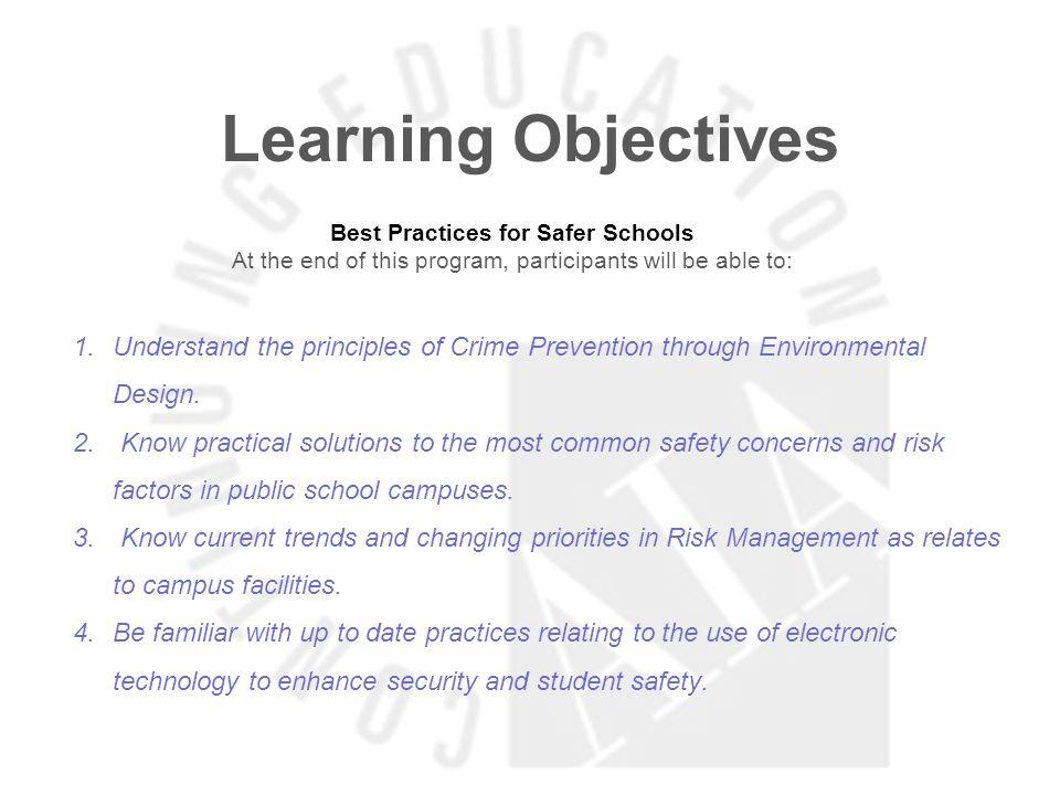 Best Practices for Safer Schools