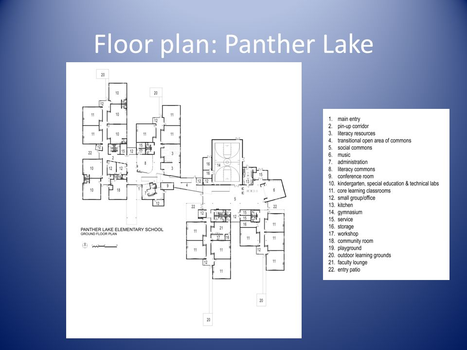 Floor plan: Panther Lake