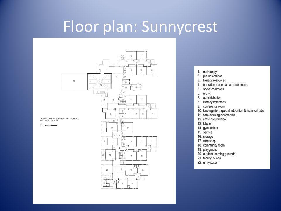 Floor plan: Sunnycrest