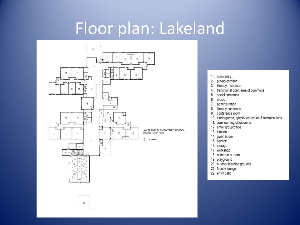 Floor plan: Lakeland