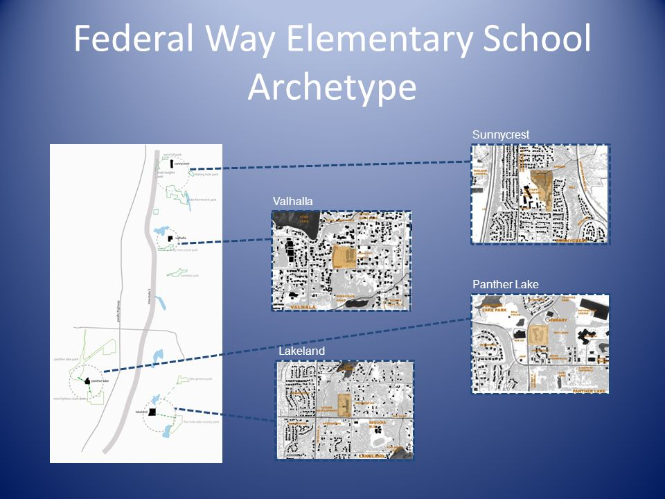 Federal Way Elementary School Archetype