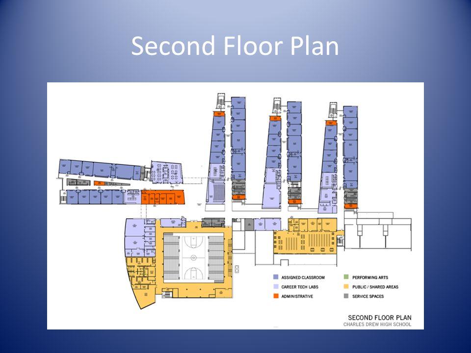Second Floor Plan Insert large format floor plan