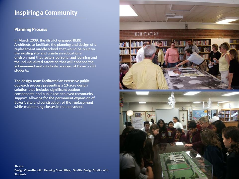 Inspiring a Community Planning Process