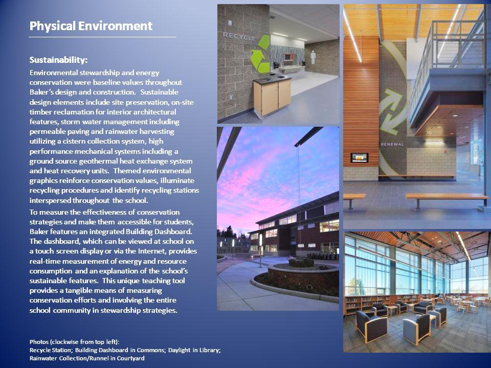 Physical Environment Physical Environment Physical Environment