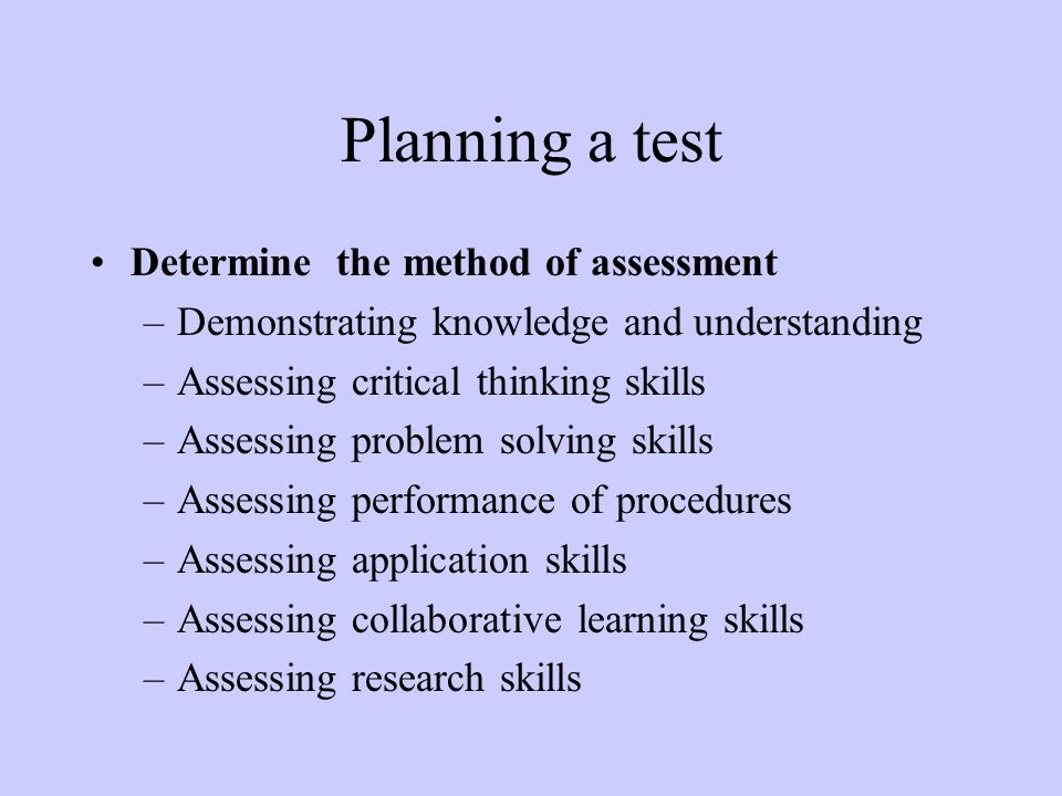 Content Writing Skills Assessment Test