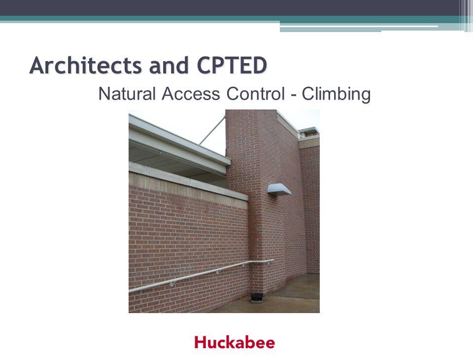 Natural Access Control - Climbing