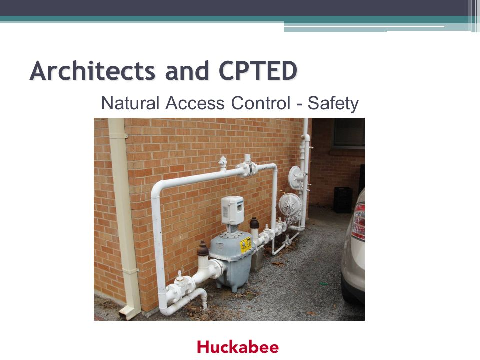 Natural Access Control - Safety