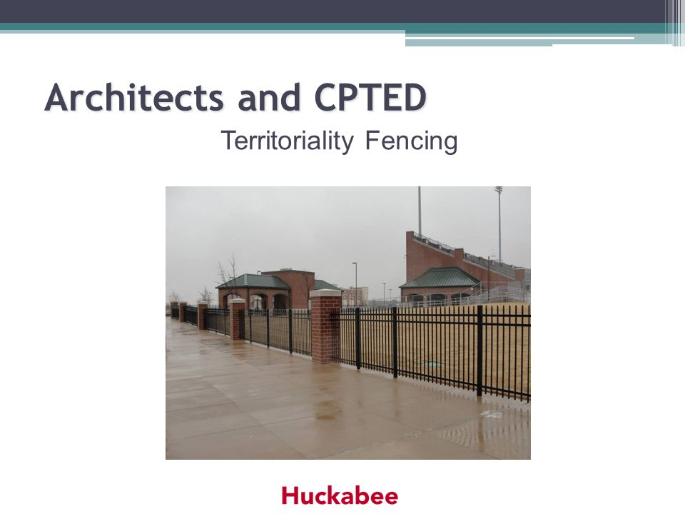 Territoriality Fencing