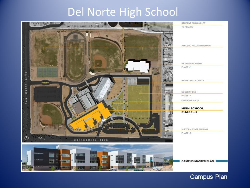 Del Norte High School Campus Plan