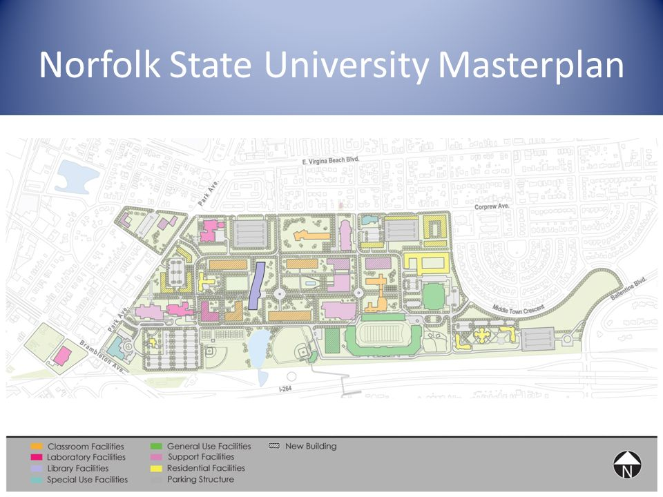 Norfolk State University Masterplan