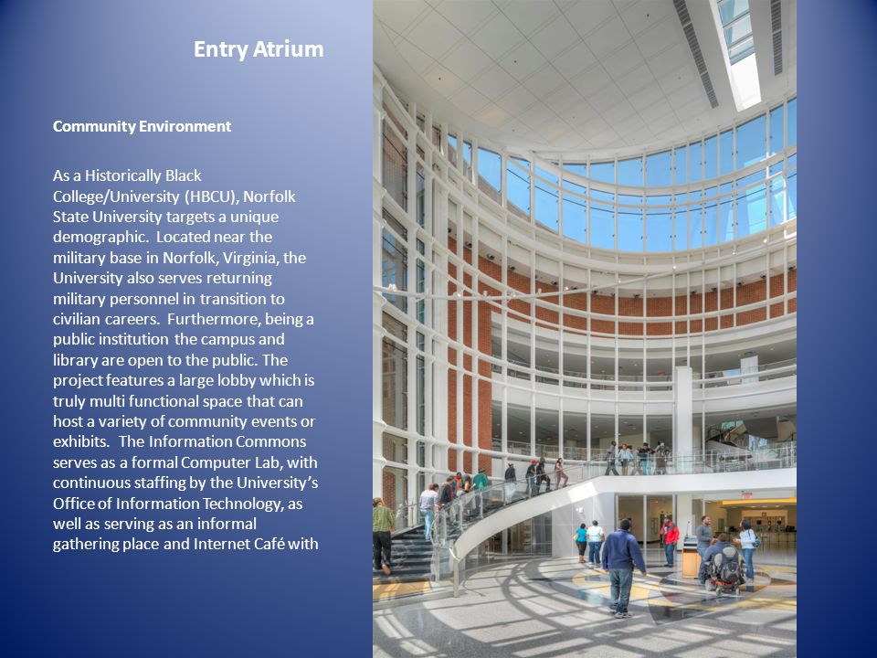 Entry Atrium Community Environment
