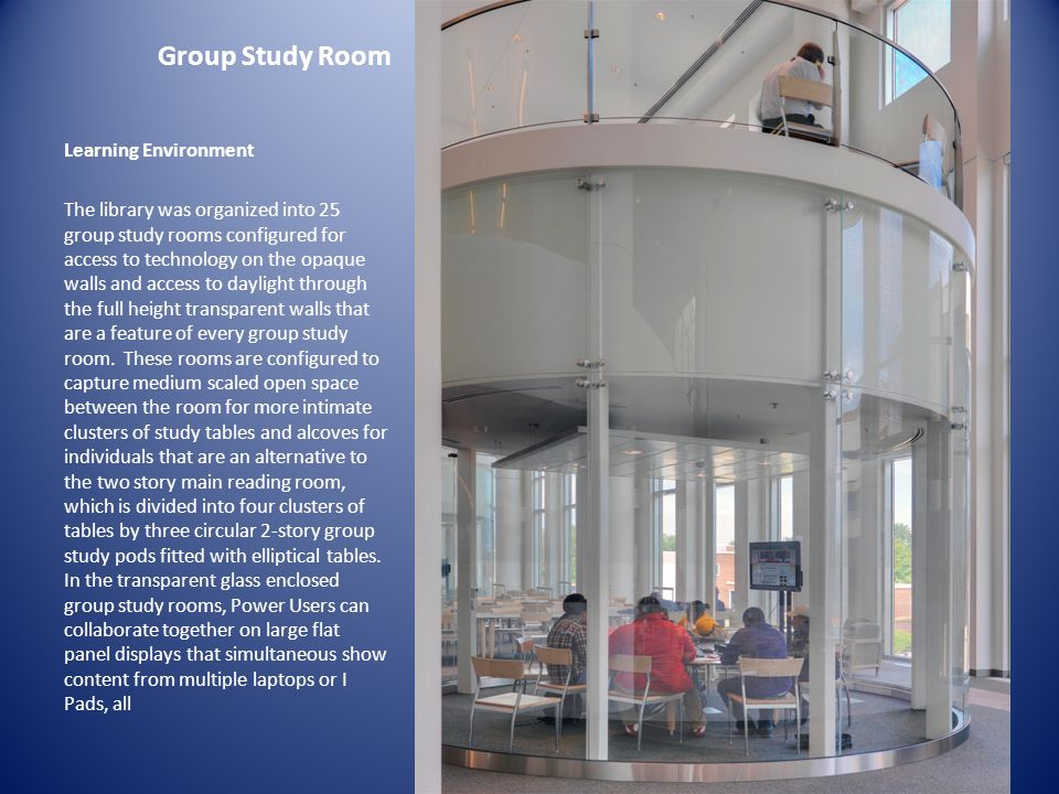 Group Study Room Learning Environment