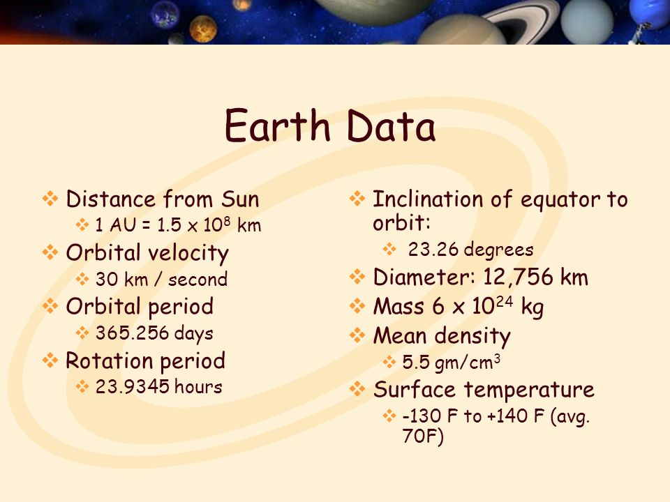 A100 Oct. 6 The Earth READ Chapter 5 – The Earth Homework ...