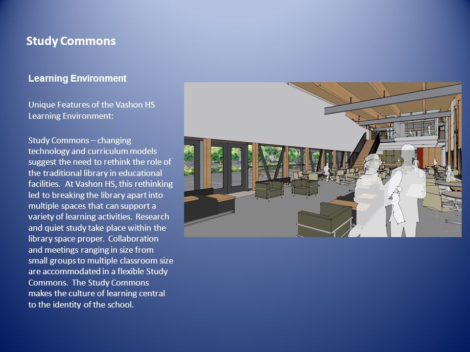 Study Commons Learning Environment