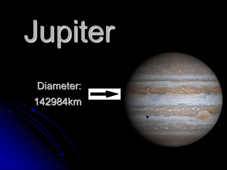 jupiter mass and diameter relationship