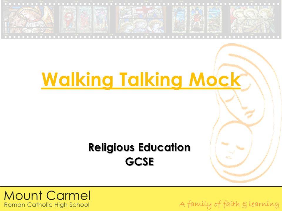 Gcse religious education coursework