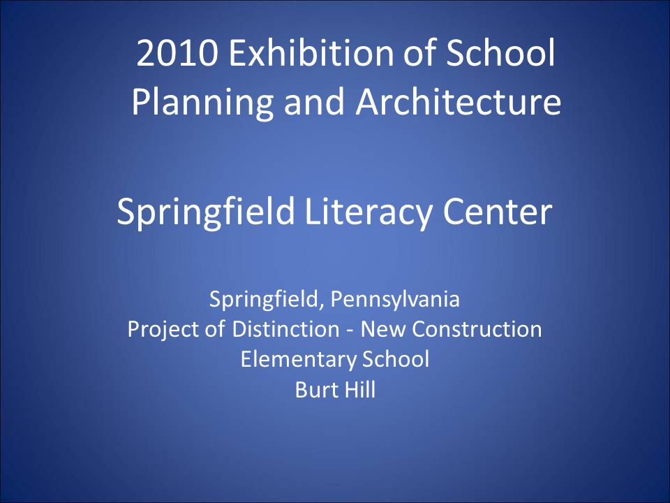 Springfield Literacy Center