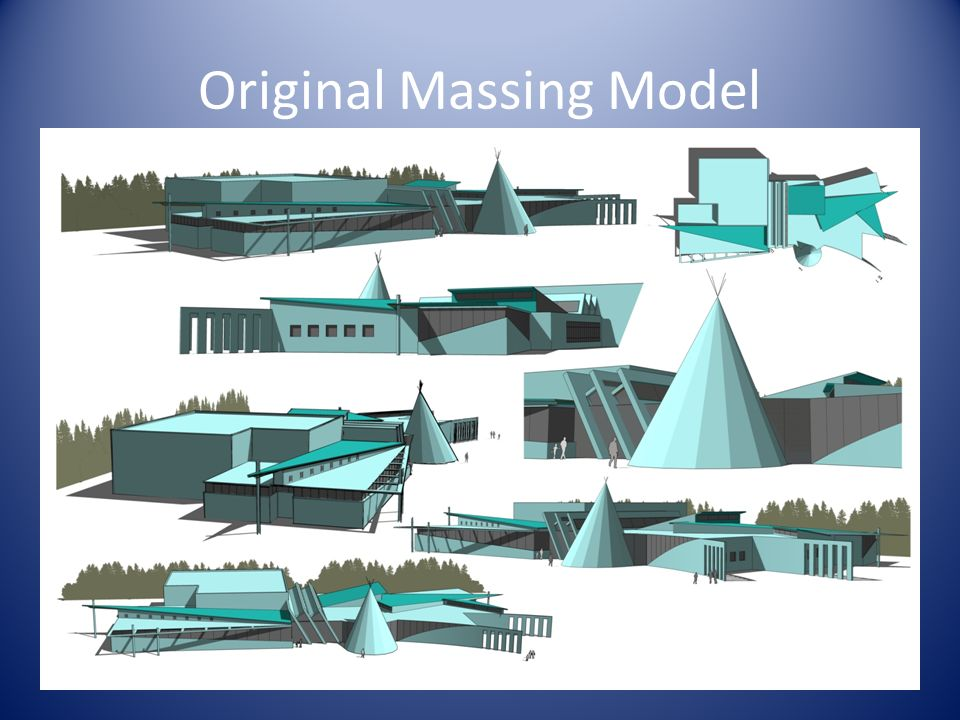 Original Massing Model