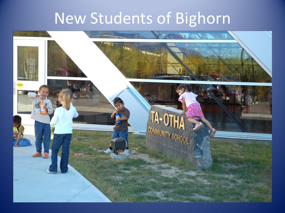 New Students of Bighorn