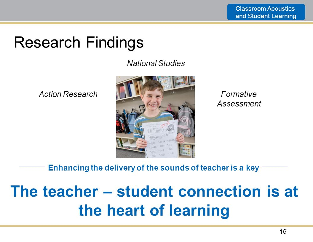 The teacher – student connection is at the heart of learning