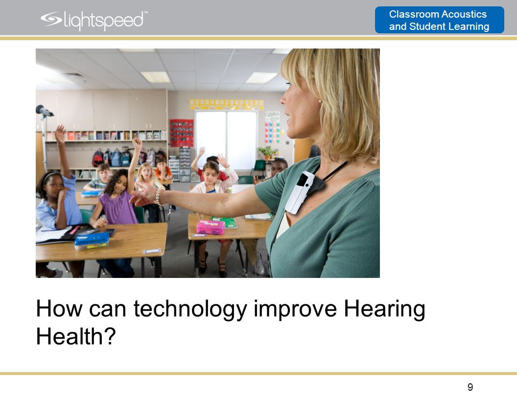 How can technology improve Hearing Health