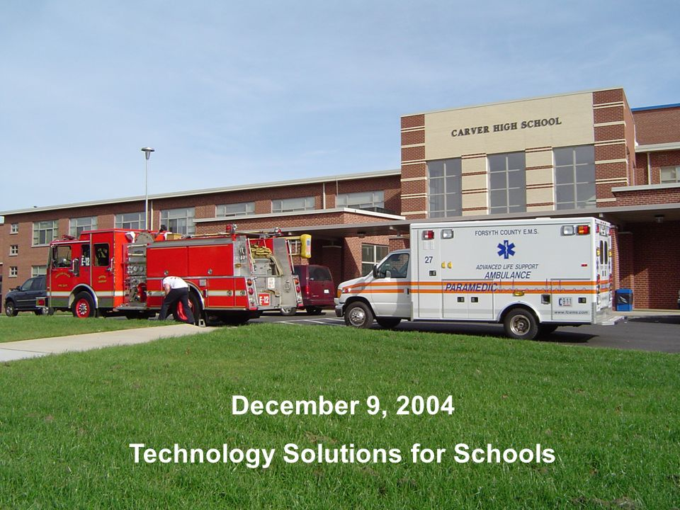Technology Solutions for Schools
