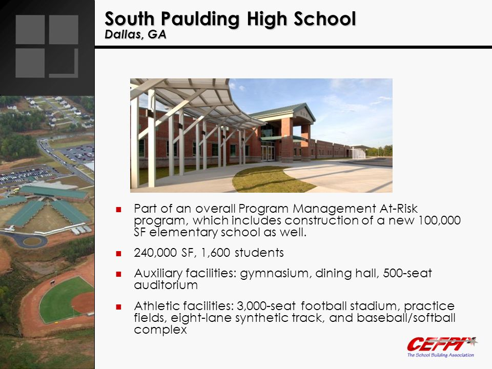 South Paulding High School Dallas, GA