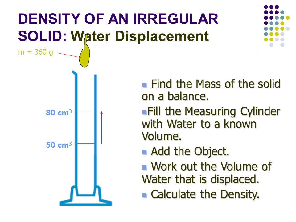 DENSITY Q Which weighs more ppt download – Volume by Water Displacement Worksheet