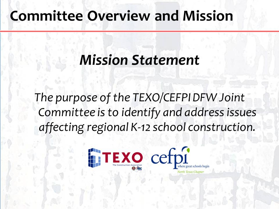 Committee Overview and Mission