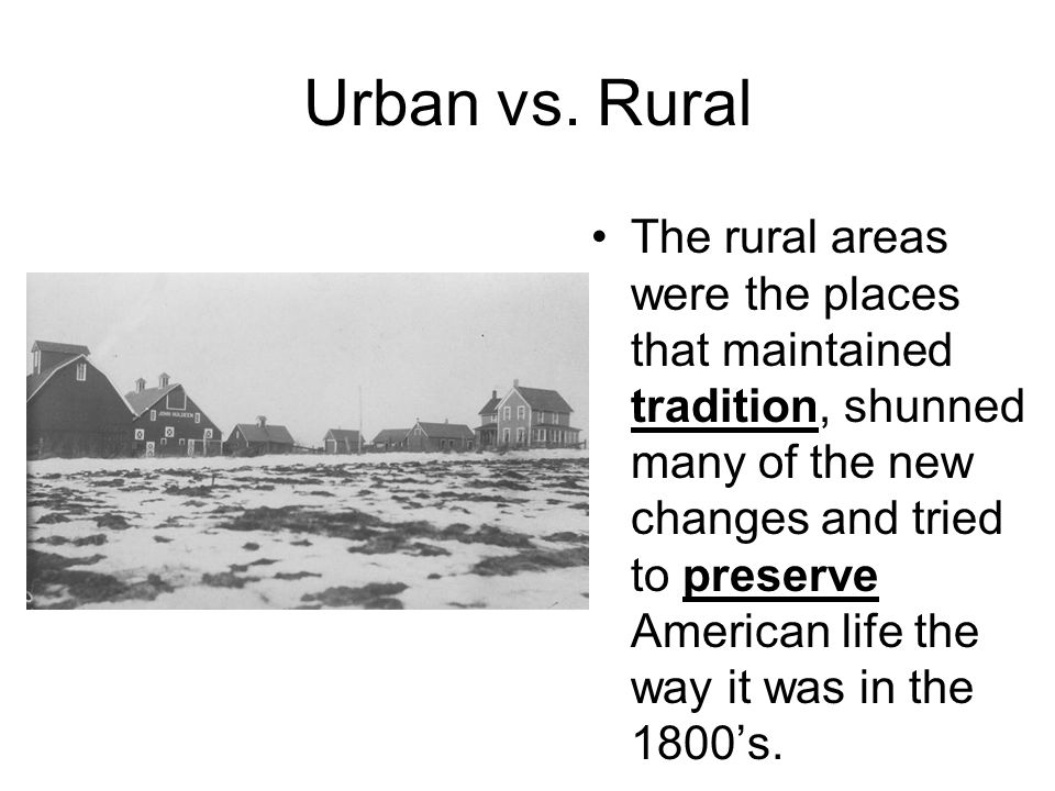 effect of rural urban cultural differences Discussion paper series cultural and ethnic differences in the transitions from work  effect of cultural differences on  of rural residents to urban.