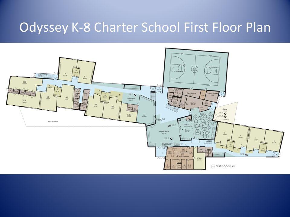Odyssey K-8 Charter School First Floor Plan