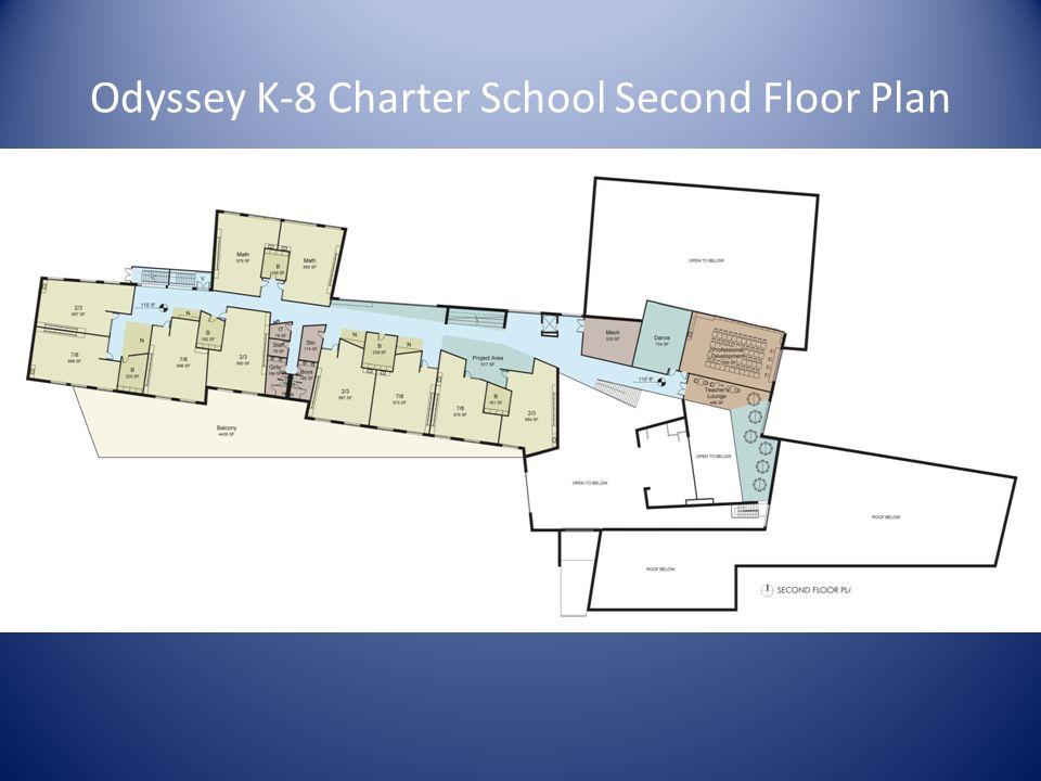 Odyssey K-8 Charter School Second Floor Plan
