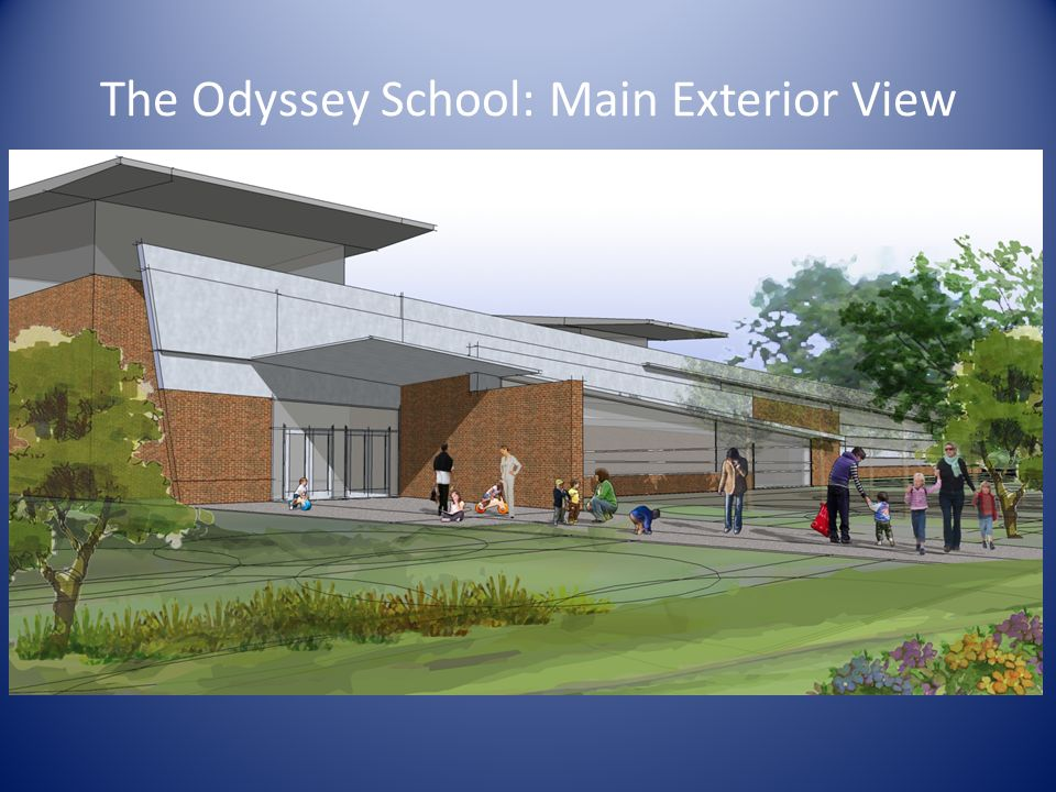 The Odyssey School: Main Exterior View