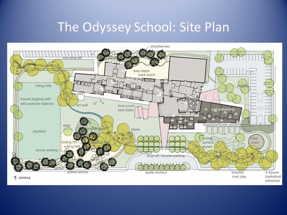 The Odyssey School: Site Plan