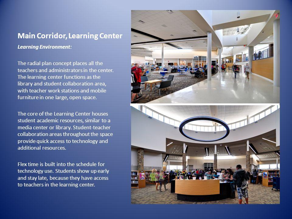 Main Corridor, Learning Center