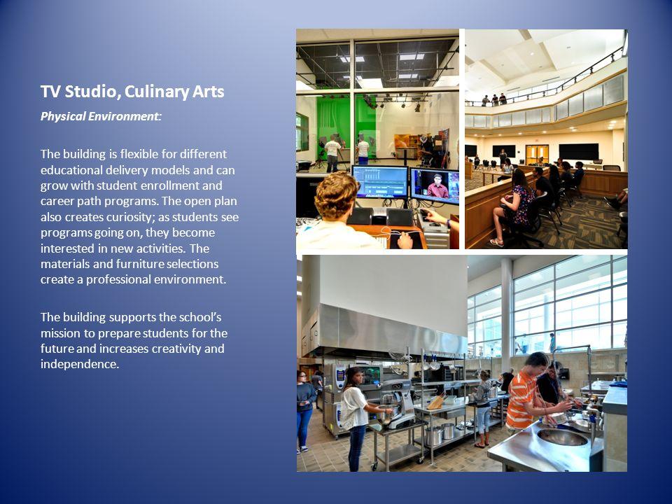 TV Studio, Culinary Arts