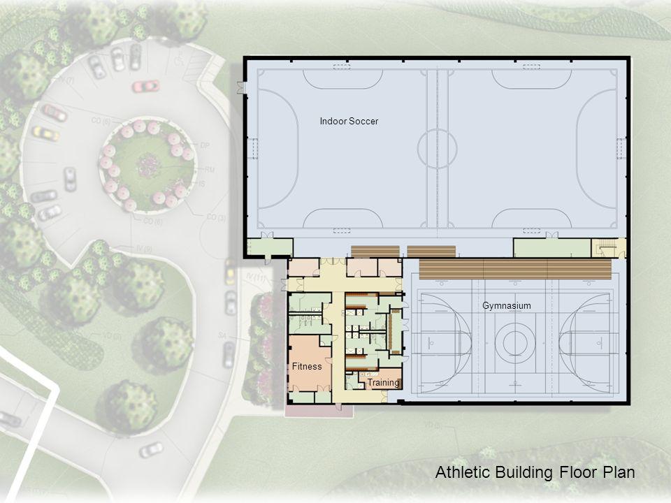 Athletic Building Floor Plan