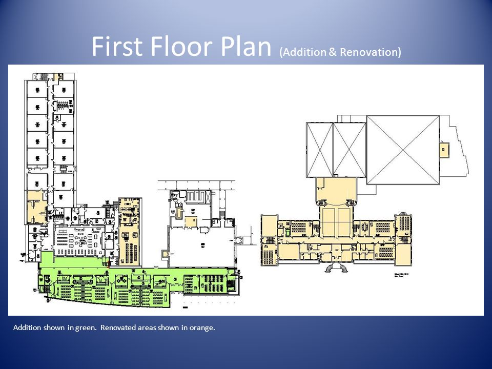 First Floor Plan (Addition & Renovation)