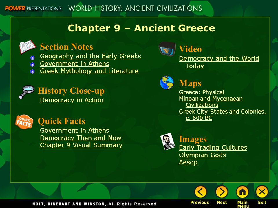 Learn ancient greek fast facts