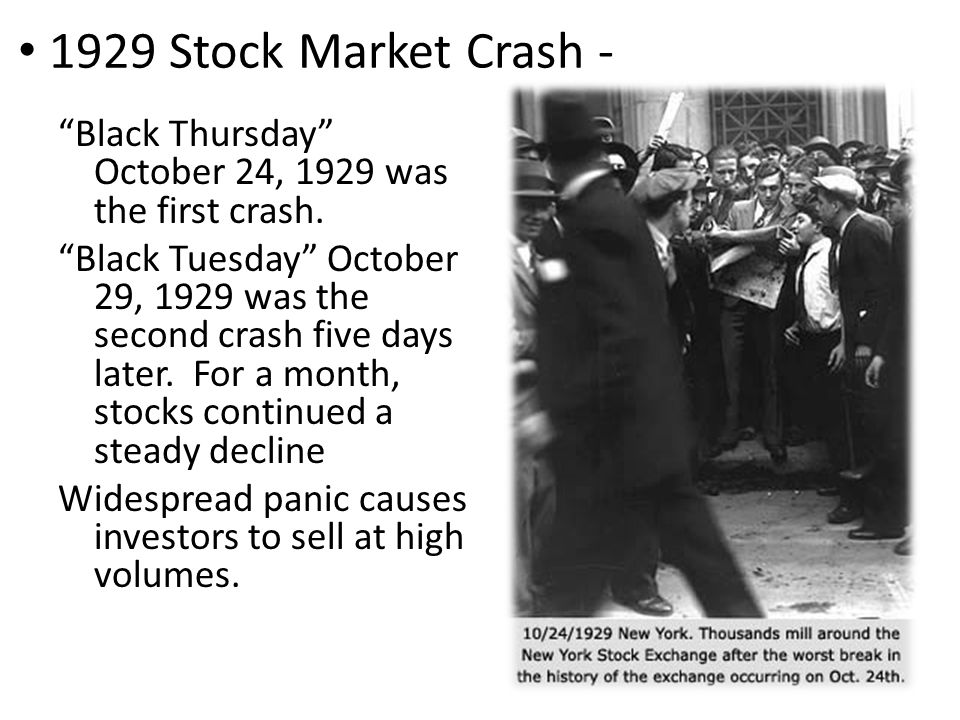 Wall Street Crash of 1929
