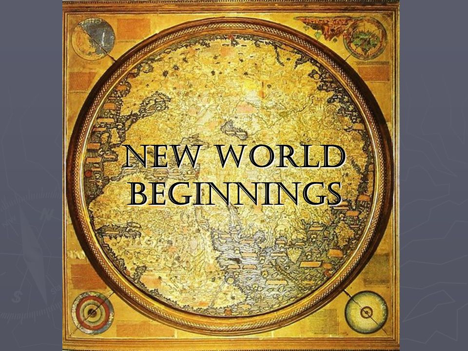 new world beginnings Find a larry jon wilson - new beginnings first pressing or reissue complete your larry jon wilson collection shop vinyl and cds.