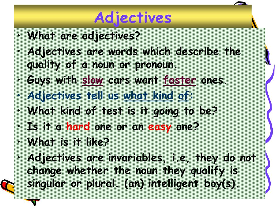 like glad adjektivet