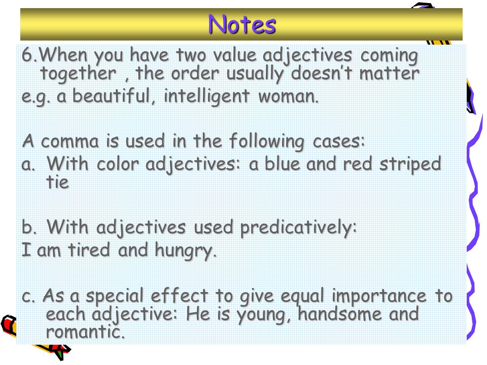 Chapter 4 Adjectives