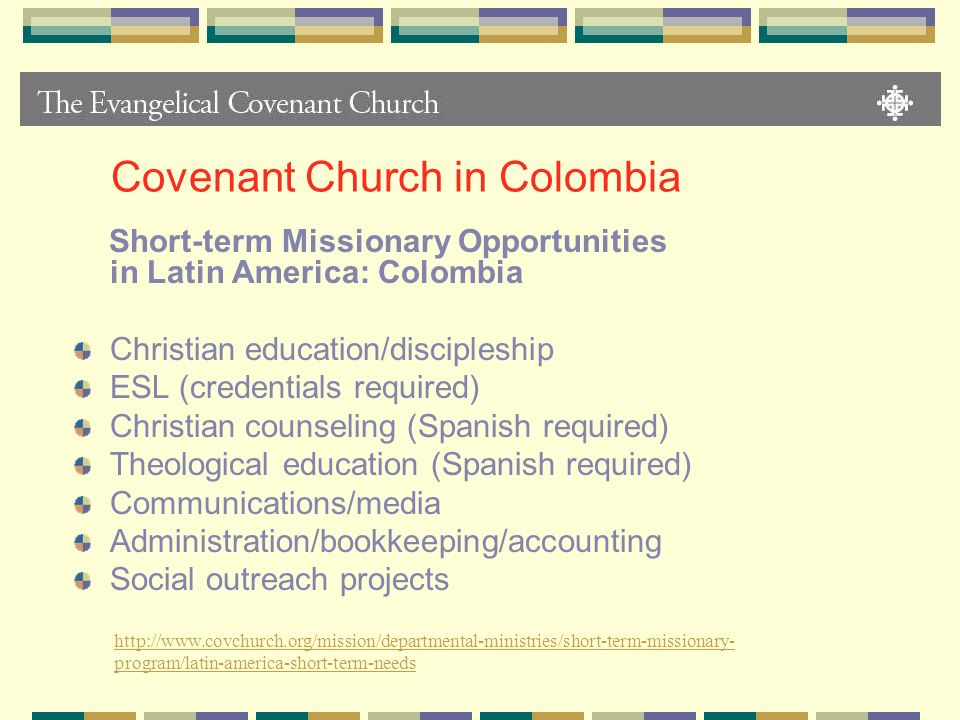 Covenant Church in Colombia